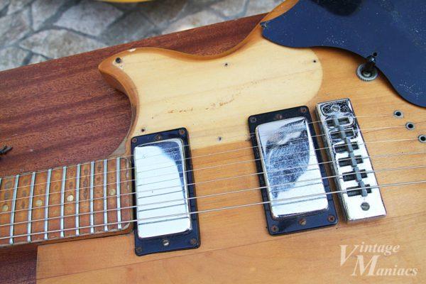 Gibson L-6Sのメタルピックアップカバー