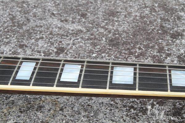 SGカスタムのフィンガーボード