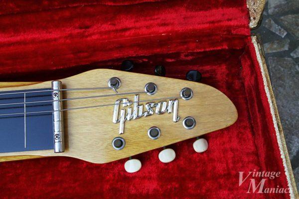 Gibson Skylarkのヘッドストックと3連クルーソン