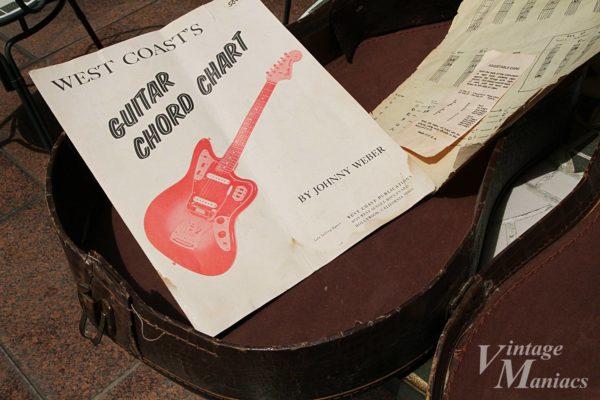 ギターのコードチャート