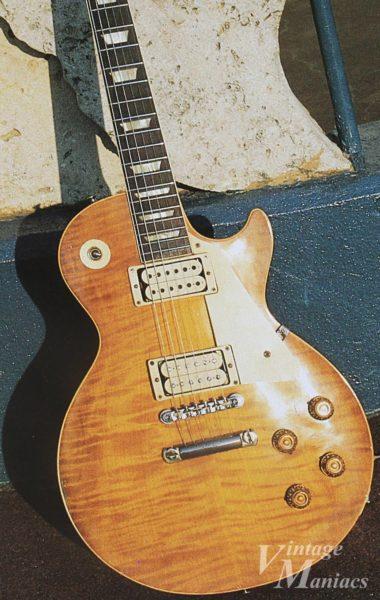 ヴィンテージ・ギター写真集に掲載されたレスポール