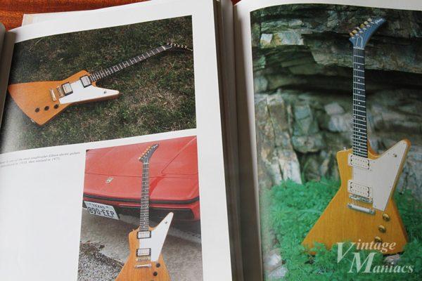 ヴィンテージ・ギター写真集に掲載された58年製エキスプローラー