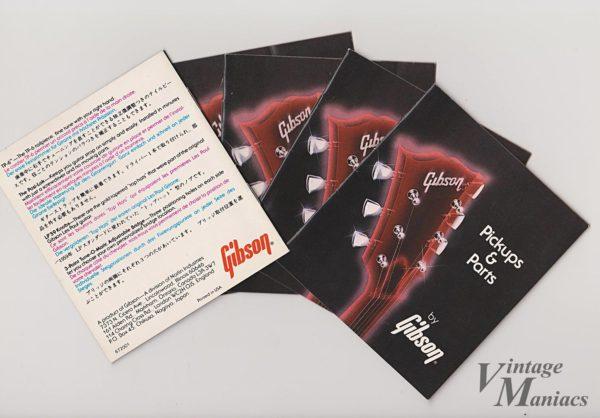 1980年のギブソンUSAのパンフレット