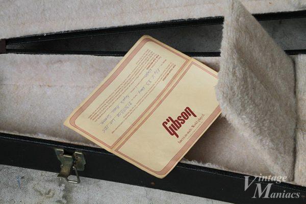 フライングV 83の保証書
