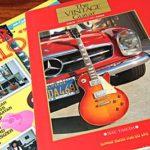 音の本棚 第3回 – 胸ときめく『ヴィンテージギター・写真集 改訂版』