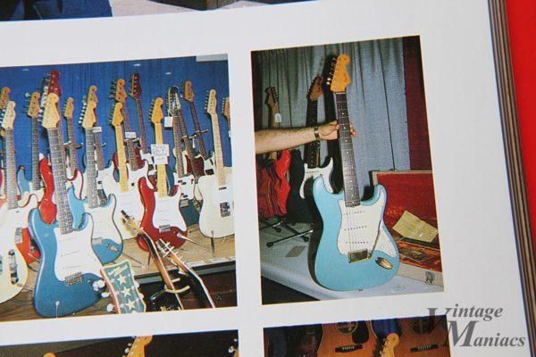 ギターショーに展示されたストラトキャスター