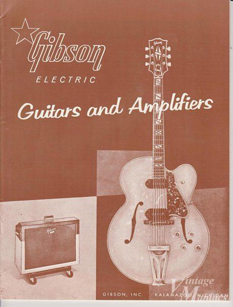 初代ES-350Tが掲載されたギブソンのカタログ
