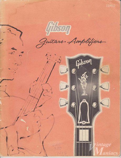1962年のギブソンのカタログ