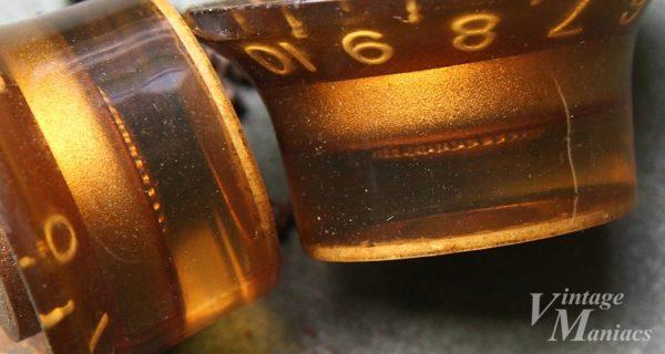 ギブソンのヴィンテージ・リフレクターノブの拡大画像