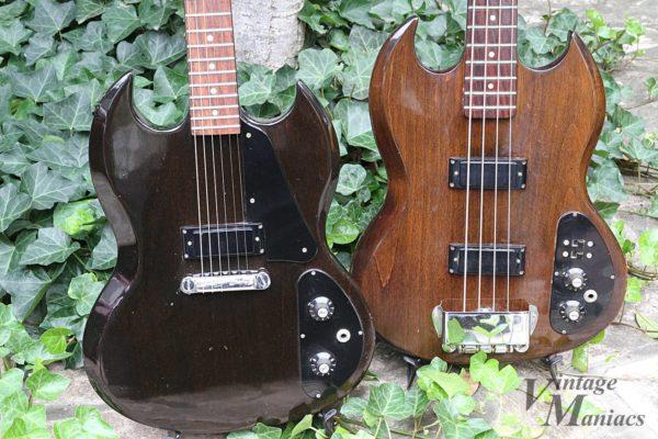 Gibson SG1とSB-450のボディアップ