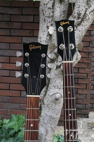 Gibson SG1とSB-450のネック