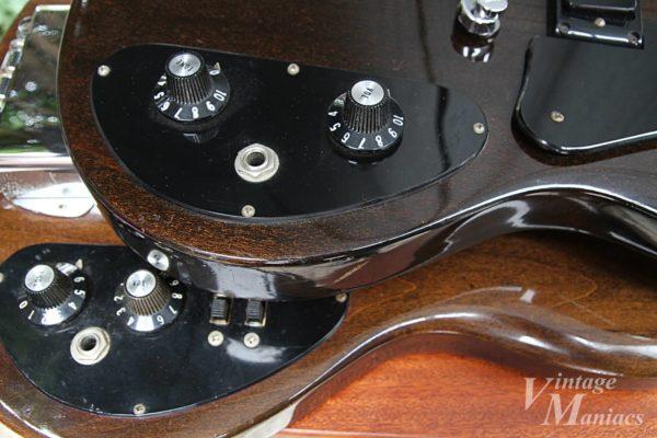 Gibson SG1とSB-450のコントロールパネルのプレート