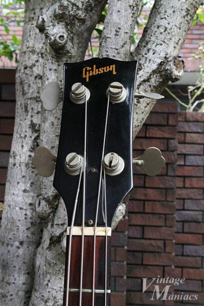 Gibson SB-450のヘッドストック