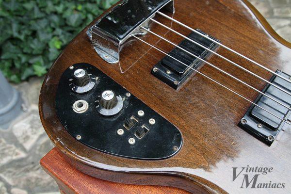 Gibson SB-450のコントロール部分