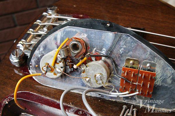 Gibson SB-450のコントロール・サーキット