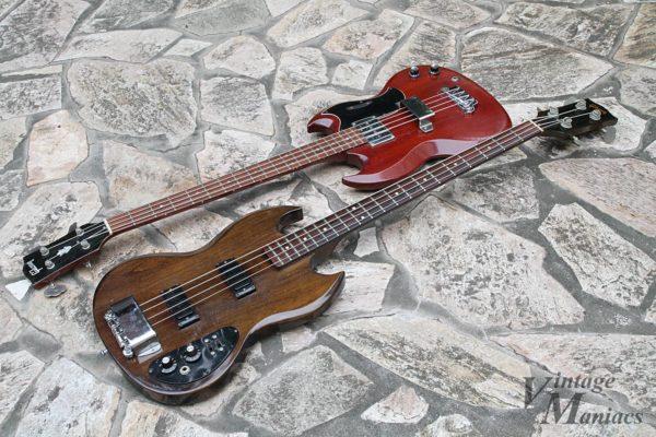 Gibson SB-450とEBベース
