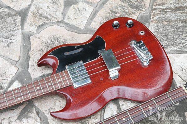 Gibson SB-450とEB-0