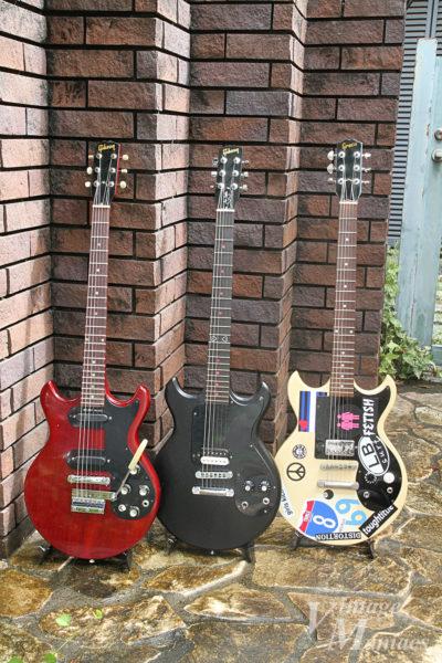 GibsonとGreco Melody Maker