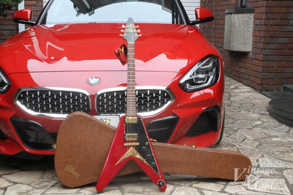 BMWとフライングVとハードケース