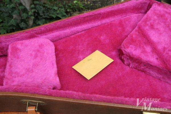 ケースの鍵が入っている封筒