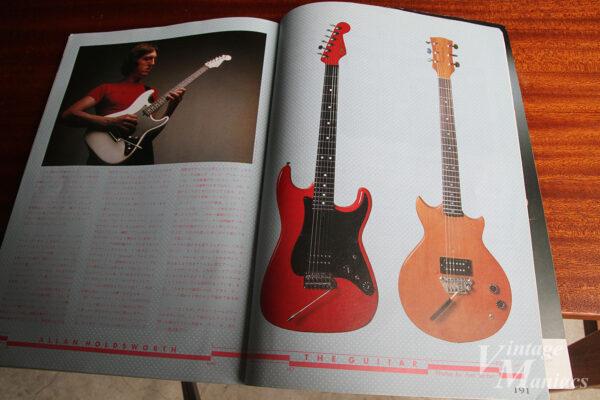 アラン・ホールズワースのゴードンスミス・ギター