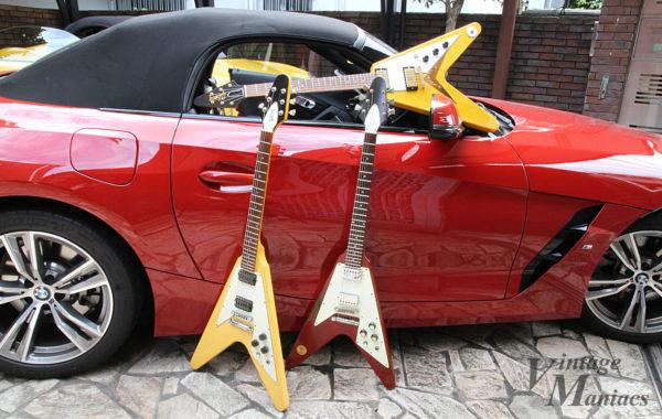 BMWと3本のフライングV