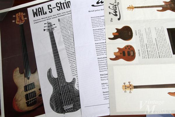 WALのベースのカタログ