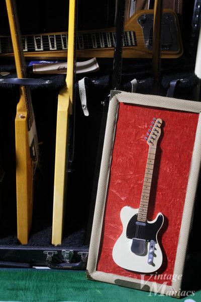 ナッシュビルのギターショーで出会ったミニチュアのテレキャスター