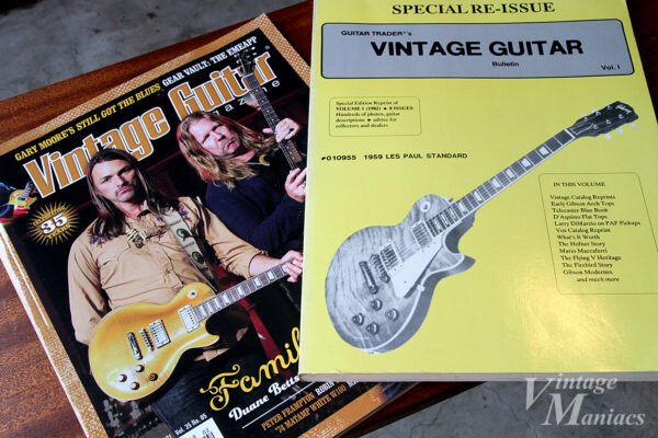 Guitar Trader's Vintage Guitar Bulletin Vol.1