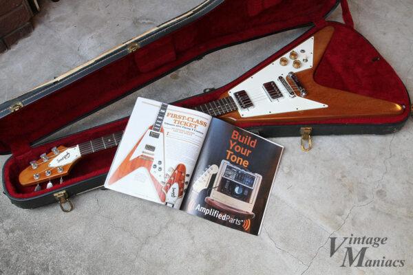 Vintage Guitar Magazineに掲載されていた71年のフライングV