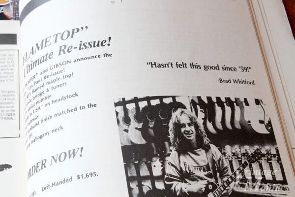 Brad Whitfordのコメント「Hasn't felt this good since '59!」