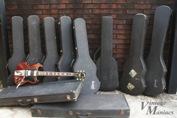 ギブソンのいろいろなギターケース
