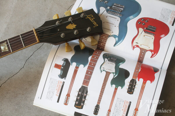 Gibsonのヘッドストックとメロディーメーカー紹介ページ