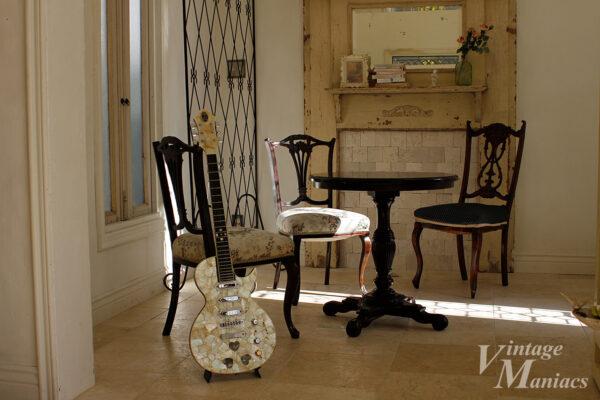 光の差すリビングに佇むGTZ Guitar
