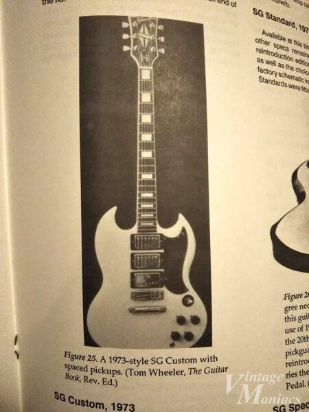1973年のSG Customの写真