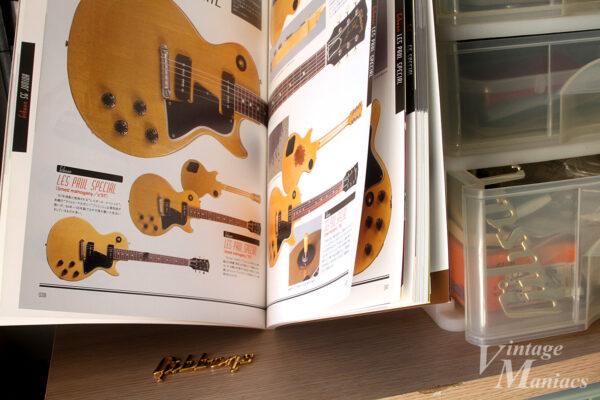 昆虫図鑑のようなギター紹介ページ