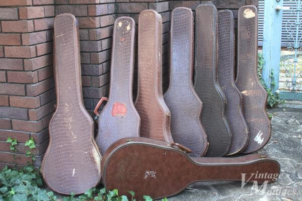 アリゲーター柄のギターケース