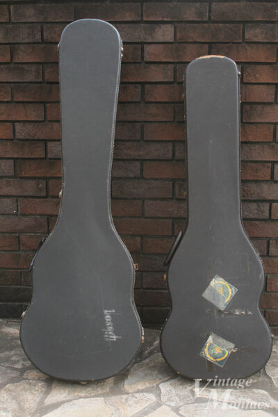 SGベースとSGギターのハードケース
