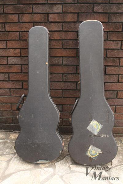 ギター用とベース用のハードケース