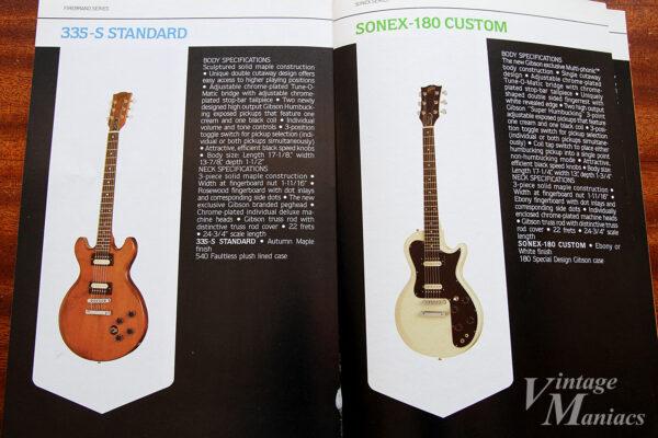 335-S StandardとSonex 180 Custom