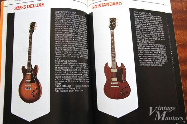 335-S DeluxeとSG Standard