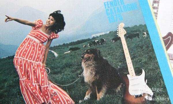 山野楽器のフェンダーのカタログの表紙