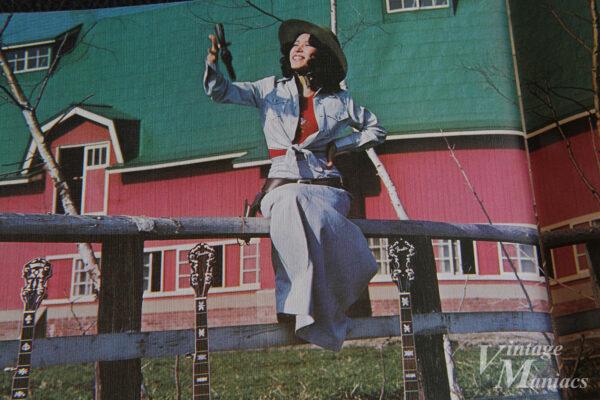 フェンダー・カタログの牧場でのロケ写真