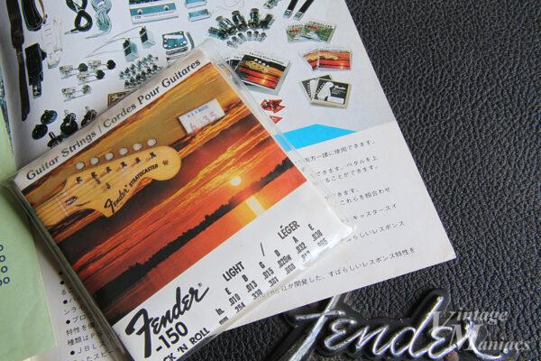 フェンダーの古いエレキギター弦