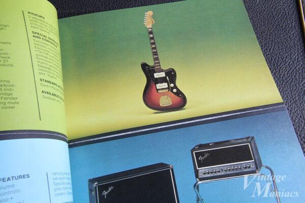 ジャズマスターのフェンダーUSAのカタログ写真