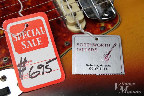 Southworth Guitarsのタグ