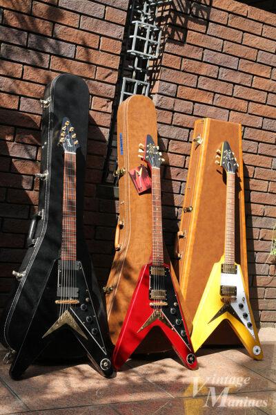 Gibsonの3モデルのフライングV