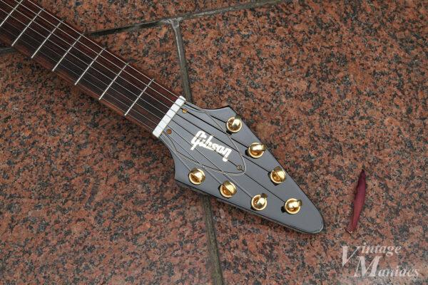 7弦FVヘッドのペグ