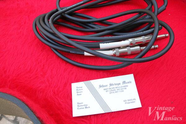 Silver Strings Musicのショップカード