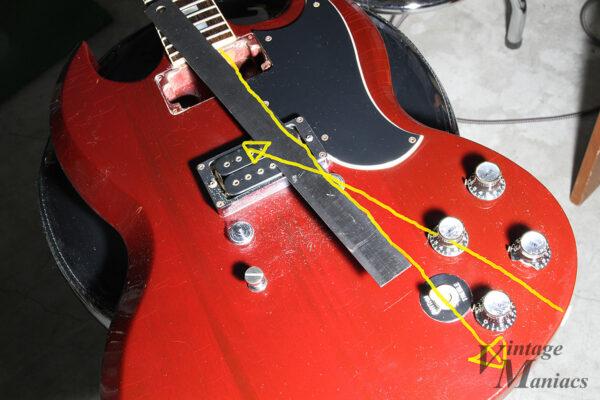 SGのワイヤリング用の穴の開け方